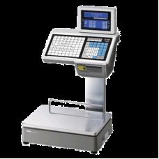 Поверка торговых весов с печатью этикетки CAS CL5000-15D