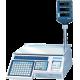 Поверка торговых весов с печатью этикетки CAS LP-R