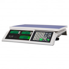 "Поверка настольных весов M-ER 326AC-15.2 ""Slim"" LCD"