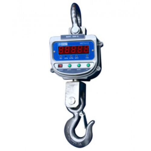 Крановые подвесные весы к 3000 врда-0/бэ1 металл, максимальная нагрузка 3 тонны