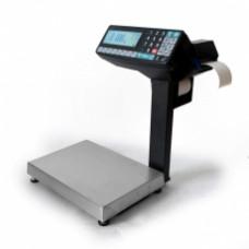 Поверка торговых весов с печатью этикетки МАССА-К MK-15.2-RP10