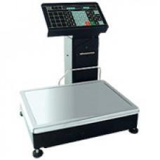 Поверка весов с печатью этикетки МАССА-К ВП-15Ф