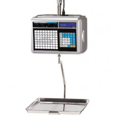 Поверка торговых весов с печатью этикетки CAS CL5000-15H