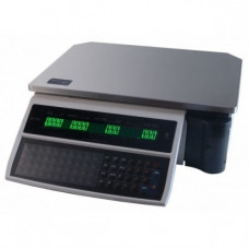 Поверка весов с печатью этикетки DIGI SM-100 B15