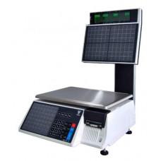 Поверка весов с печатью этикетки DIGI SM-100 BS15