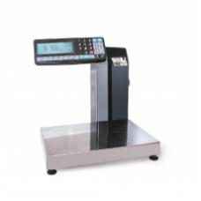 Поверка торговых весов с печатью этикетки МАССА-К MK-15.2-R2L10-1